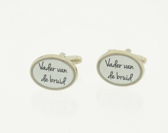 Cufflinks wedding/marriage/marriage for father of the bride and groom