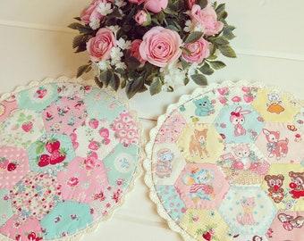 recreate/customize a large patchwork doily