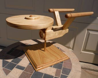 Wooden Original Starship Enterprise - Large