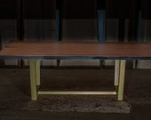 Bubinga Live Edge Table o...