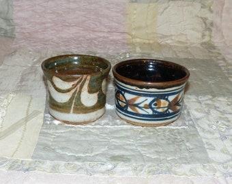Two Artisan Pottery Bowls - 2038