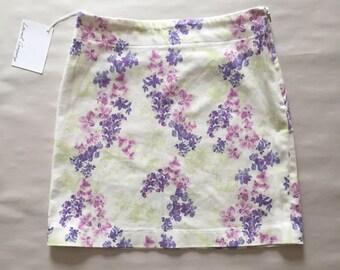 stretch bodycon mini skirt // muted lilacs skirt // ultra mini skirt