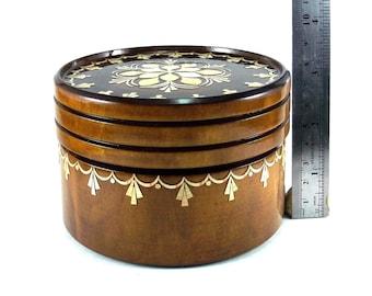 Jewelry box inlay Handmade box Jewelry storage box Jewelry box handmade Wood storage box Wood jewelry box Wood trinket box Small trinket #1