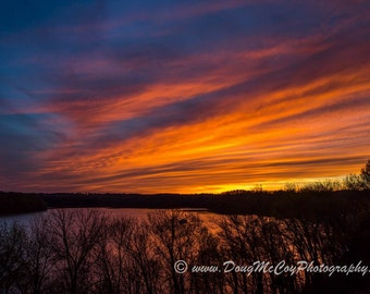 Sunset over Lake Cumberland #9930