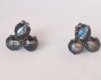Beaded Clip On Earring