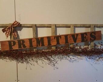 Primitve/Rustic Ladder Decorative