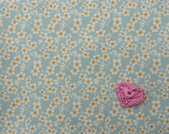Tilda Bumblebee FQ / Tilda Newest Collection / Cherry Blossom Blue / Fat quarter