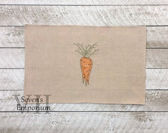 Bunch of Carrots Sketch Machine Embroidery Design