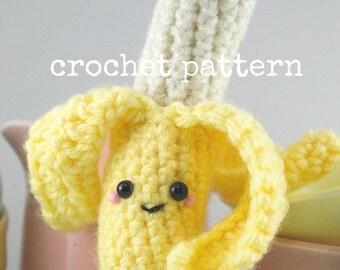 CROCHET PATTERN-Amigurumi Banana