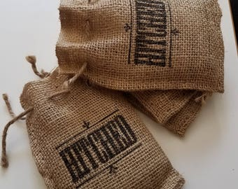 Burlap Bags- Small