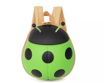 Soo Cute Ladybug backpack toddlers preschooler bathing suit carry on