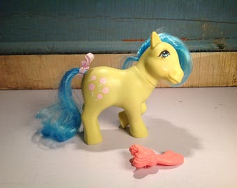 Vintage my little pony G1 Tootsie