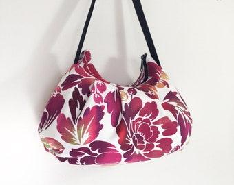 Pleated Bag // Shoulder Purse - Ombre Purple