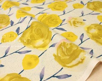 Cotton + Steel Firelight - roses - yellow - 50cm