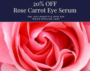 20% OFF! Rose Carrot Eye Serum