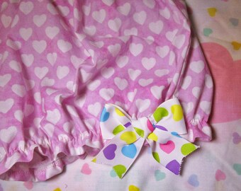 Lolita bloomers, Valentine's Day fairy kei pastel goth Barbie size small s drag queen clothing