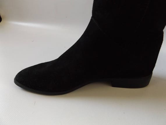 be31e25dc3e ... leather winter minimalist black tall boot size suede high 7 minimal  boots fall 90s vintage down ...