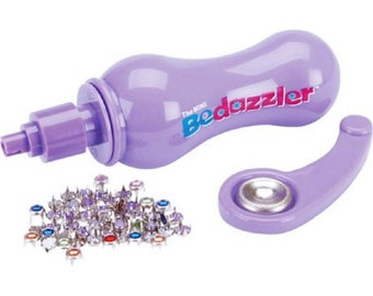 Bedazzler with 2 packages of Rhinestones (clear and colors)
