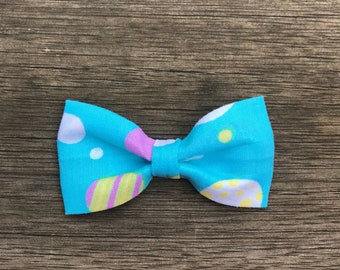 Blue Easter Egg Cat Bow Tie