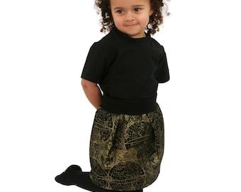 World Explorer Unisex Pocket Skirt Gold