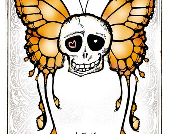 i love you to death, Greeting Card by Renae Taylor