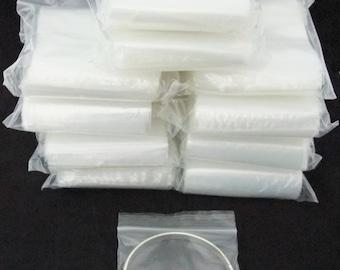 1000 Silver Guard Reclosable Anti Tarnish Bags 3X3 Inch Wholesale Lot