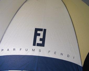 Fendi Umbrella 1980s Umbrella Designer Umbrella Italian Designer