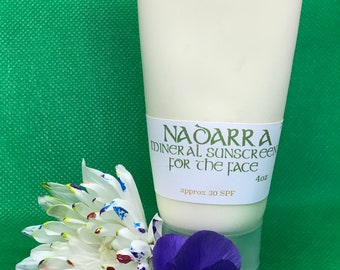 Mineral Sunscreen for the face *reef safe**non-comedogenic****acne-friendly**