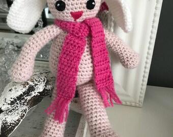 Crocheted Bunny Zaza