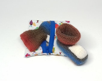 Baby wool newborn (0-3 months) with gift bag