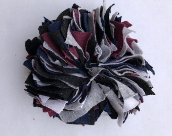Cotton Scrunchie- B/B/M/G/W