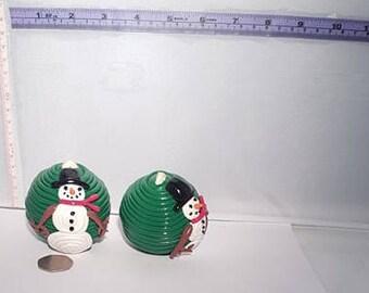 Snowman Bauball, Snowman Christmas Tree Decoration, Snowman Christmas Ornament, Fimo Ornament, Polymer Clay Ornament