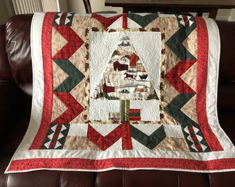 Christmas kid's quilt/Christmas tree quilt