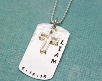 first heart with communion personalised cross asp p necklace crystal charm