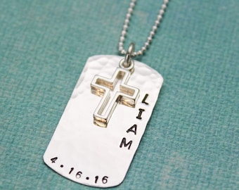necklace collections personalized confirmation initial communion baptism img custom first gifts products date