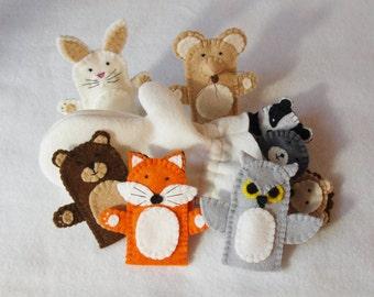 The Mitten, The Mitten Felt Puppet, Owl Puppet, Hedgehog Puppet, Bear Puppet, Fox Puppet, Mouse Puppet, Badger Puppet, Rabbit Puppet, Mole