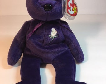 Authentic TY Beanie Baby- Princess-Rare and Retired