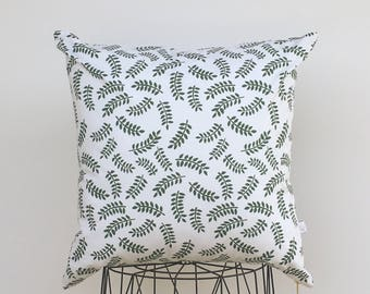 Leaves pillow cover