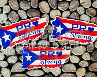 P.R. Strong  --  Limited Edition Decal