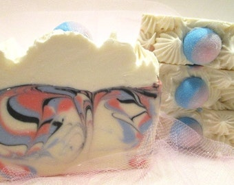 Cotton Candy Soap Handmade Cold Process Soap