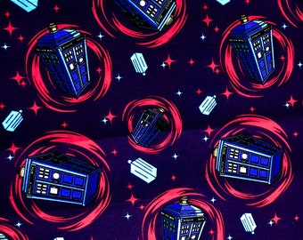 Doctor Who Tardis Fabric