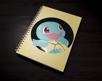 Notebook Pokemon Squirtle