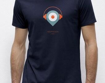 Headphoon Navy | T-shirt | Eco-friendly