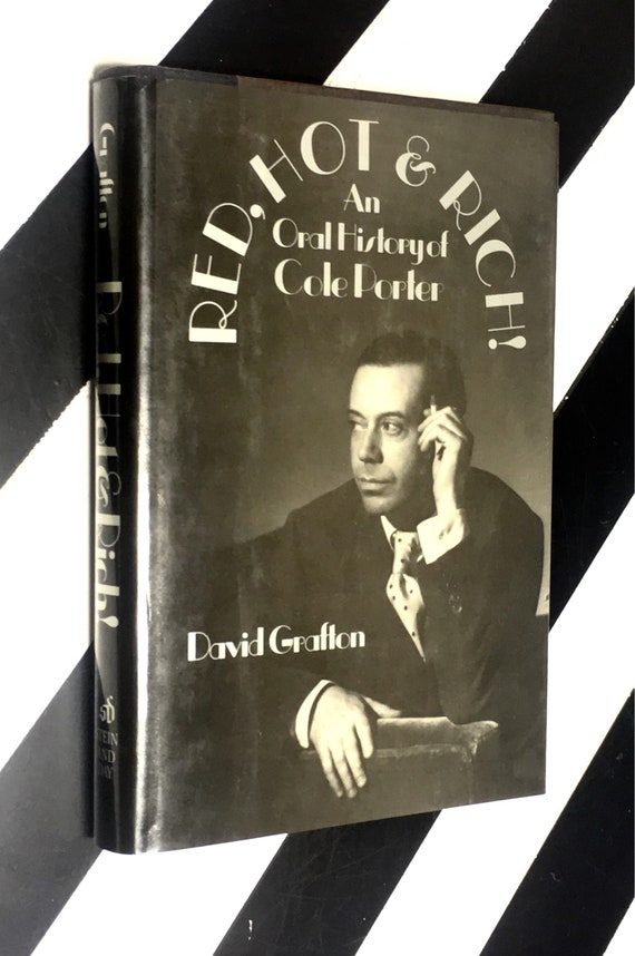 Red, Hot, & Rich! An Oral History of Cole Porter by David Grafton (1987) hardcover book