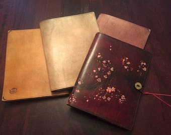 Leather Cover for Composition Notebooks