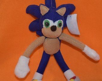 Sonic the Hedgehog Handmade Plush