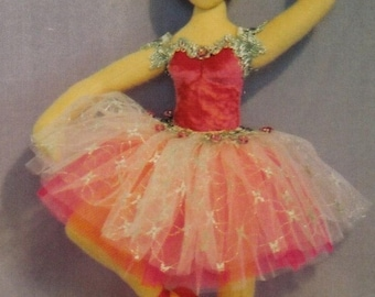 Sugar Plum Fairy Ballet Doll E-pattern Digital Download
