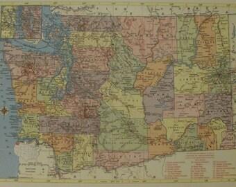 Wyoming maplaramie yellowstoneusa state mapsunited states washington mapseattle tacoma vancouverrailroad route mapusa state maps united gumiabroncs Gallery