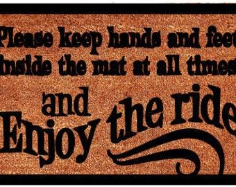 Enjoy the Ride Doormat