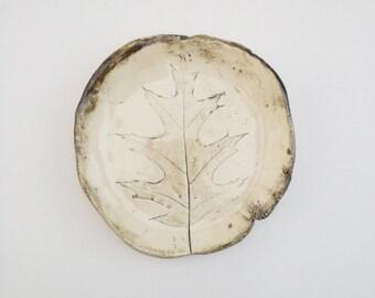 Oak Leaf Catch All Dish (no 663)